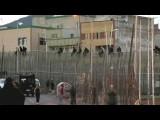 Вперед, в Евросоюз: африканские мигранты штурмуют пограничный забор