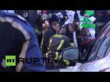 Медики до конца бились за жизнь раненой в нападении на юге Парижа сотрудницы полиции
