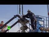 Падение цен на нефть может ударить по компаниям, использующим нетрадиционные способы нефтедобычи