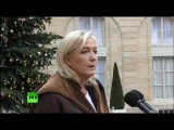 Марин Ле Пен: Мы должны ответить на объявление войны со стороны исламского фундаментализма