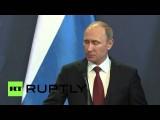 Владимир Путин: Иностранное оружие на Украину уже поставляется