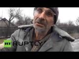 Углегорск разрушен в результате боев между украинской армией и ополченцами
