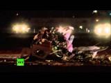 Одномоторный самолет врезался в телебашню в США