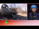 Правительственные войска и ополченцы следят за соблюдением перемирия на Украине