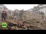 В Непале произошло мощное землетрясение, погибли более 150 человек