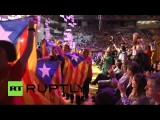 В Барселоне прошла многотысячная акция сторонников независимости Каталонии