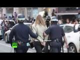 В поддержку Балтимора: массовая акция протеста против полицейской жестокости прошла в Нью-Йорке