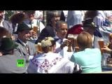 Барак Обама призвал провести саммит G7 на открытом воздухе за кружкой пива