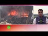 Донецк вновь подвергся артобстрелам