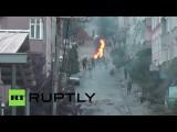 Двое полицейских убиты в результате уличных беспорядков в Стамбуле