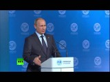 Владимир Путин на вопрос о йоге: Мне нужно много над собой работать
