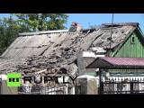 Украинские силовики обстреляли поселок в пригороде Донецка