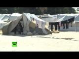 Корреспондент RT побывал в лагере для сирийцев, бежавших от боевиков ИГ