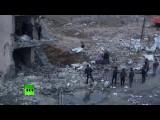 Последствия серии взрывов в ТЦ в Багдаде