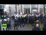 В Кельне проходит антиисламский митинг