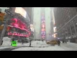 Восточное побережье США накрыл «снегопад века»