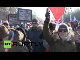 В Польше проходят манифестации в защиту демократии и гражданских свобод
