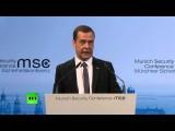Дмитрий Медведев: Отношения РФ и НАТО скатились к временам новой холодной войны
