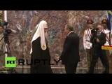 Рауль Кастро вручил патриарху Кириллу одну из высших госнаград Кубы