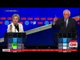 В преддверии праймериз в Нью-Йорке Клинтон и Сандерс провели ожесточенные дебаты