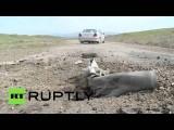 Обстановка в Нагорном Карабахе, где установилось перемирие