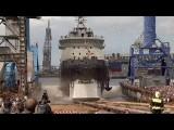 В России спущен на воду ледокол нового поколения